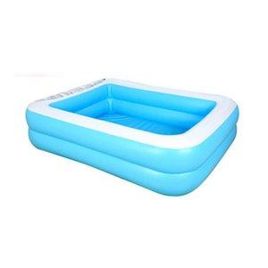 Детский надувной бассейн для дома, детский надувной квадратный бассейн большого размера для детей