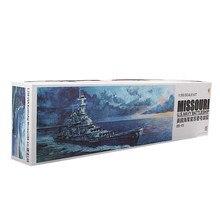 Muito fogo vf350909dx 1/350 uss navy battleship BB-63 missouri navio modelo kit