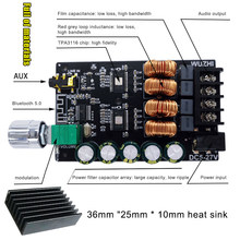 2 Channel 100WX2 Bluetooth Digital Amplifier Papan Audio Amp Modul dengan Filter TPA3116 ND998(China)