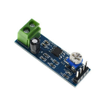 LM386 amplifier board 200 times gain audio power amplifier board mono audio power amplifier module image
