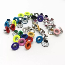Eyelets Leathercraft Accessories Scrapbooking Metal for DIY Shoes Belt-Cap Bag-Tags Fashion