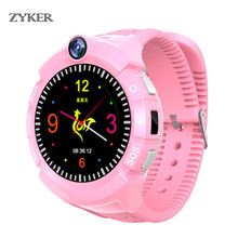 ZYKER Smart Watch Kids GPS Wifi Location Tracker Camera SIM Card Call Smartwatch SOS Anti-Lost Monitor Children Student Watch q90 kid smart watch gps bds lbs apgs wifi location device tracker sos call baby safe anti lost bluethooth sim card smartwatch
