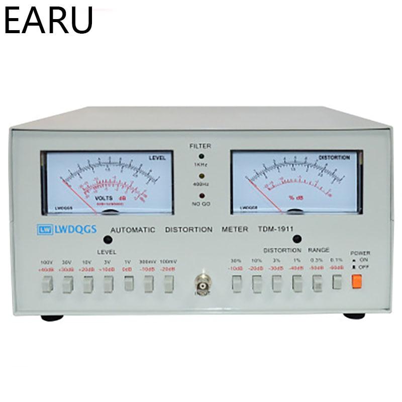 TDM 1911 Automatic Distortion Meter 0.01%   30% Audio Signal Distortion Analyzer|Voltage Meters| |  - title=