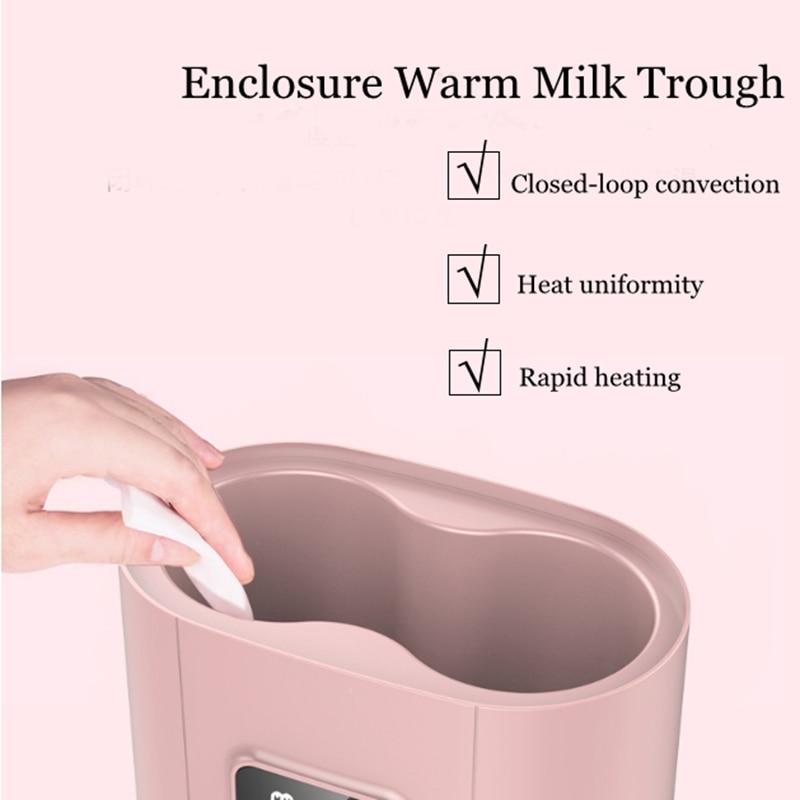 6 in 1 Smart Universal Baby Food Warm Baby Feeding Bottle Warmer Heater Sterilizer 110-220V Electric Milk Food Warmers with Timer