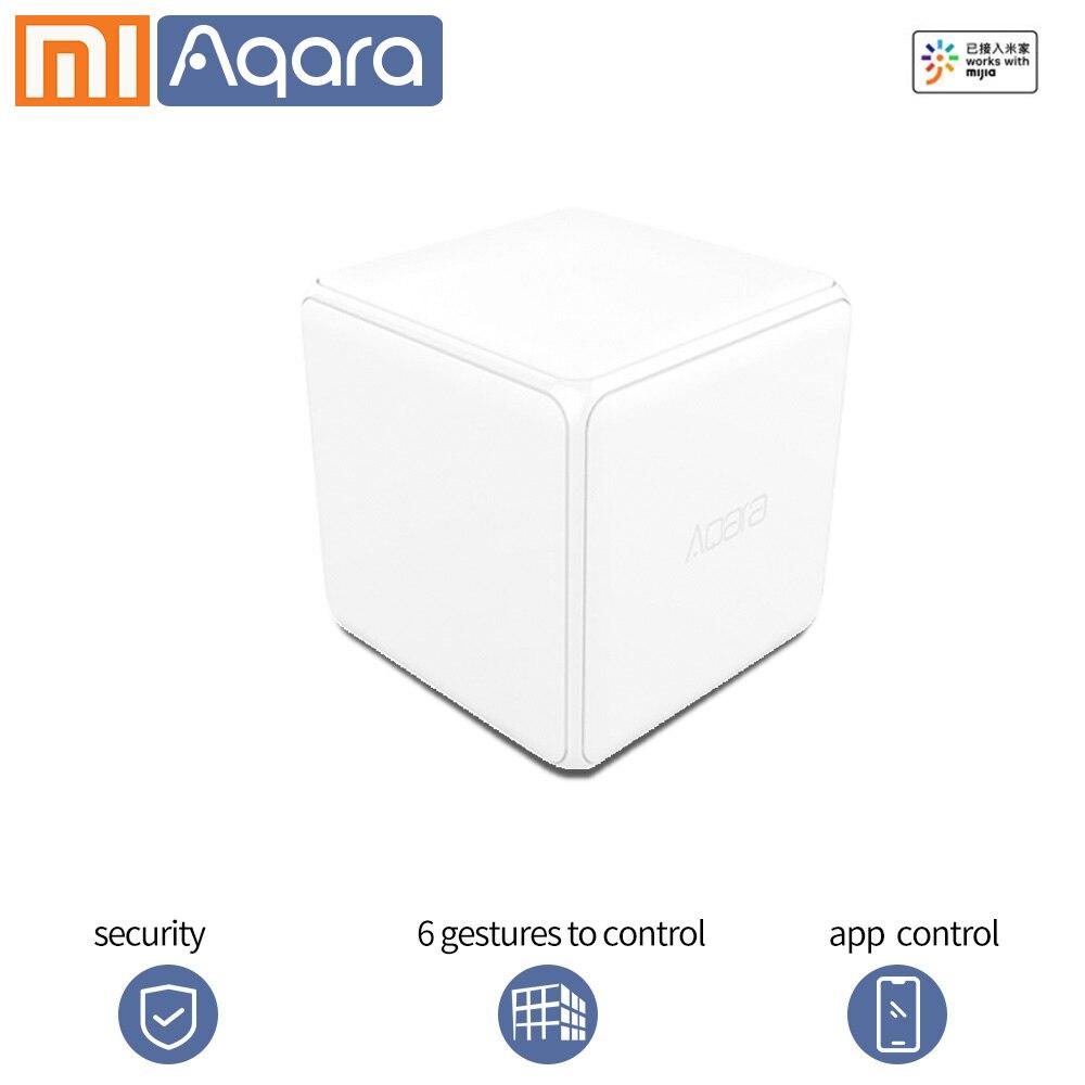 Aqara волшебный куб контроллер беспроводной переключатель Xiao mi умный дом датчик 6 жестов датчик ZigBee mi home приложение подключение