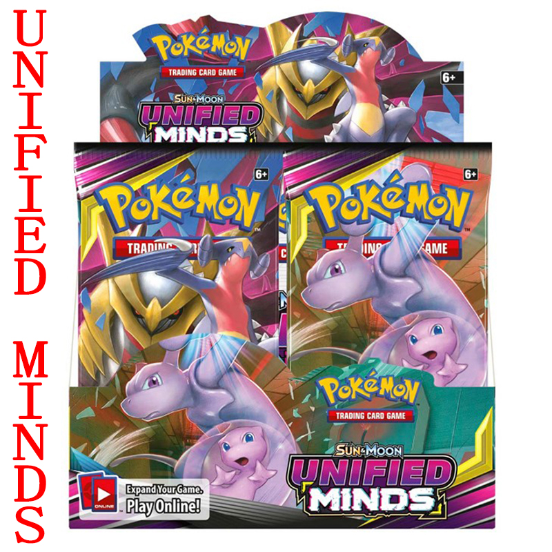 324 Pieces Of Pokemon TCG: A Variety New Sun And Moon Bond Booster Box Trading Card Game