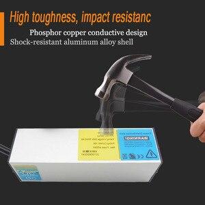 Image 4 - C13 Protection contre les surcharges industrielle 2M prise dextension 4 prise ca prise ue 16A 250V alliage daluminium PDU multiprise