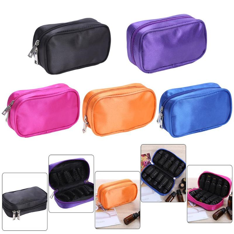 10 Roller Bottles Essential Oil Case Carry Holder Storage Aromatherapy Bag