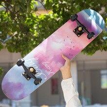 Skateboarders Complete Adult Cool Beginner Drift Double-Rocker Maple Kids High-Speed