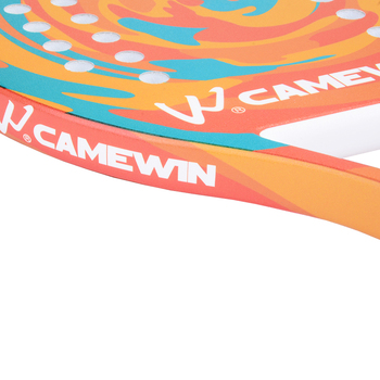 New Popular Beach Tennis Racket Carbon Fiber Men Women  Sport Soft Face Tennis Racquet with Paddle Bag Cover 3