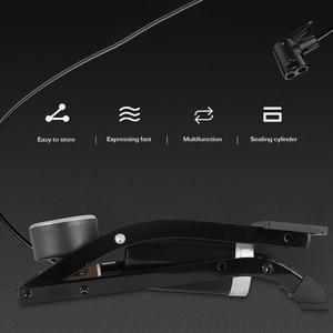 Image 5 - Pédale haute pression, pompe à Air pour vtt, vélo de route, voiture, gonfleur simple Double cylindre, pour Scooter Xiaomi M365