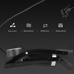 Image 5 - Áp Lực Cao Chân Đạp Bơm Không Khí Đơn Đôi Xi Lanh Bơm Hơi MTB Đường Xe Đạp Xe Đạp Xe Bơm Hơi Cho Xiaomi M365 Xe Tay Ga