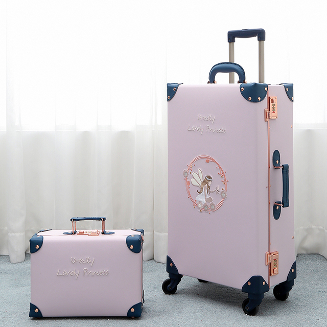 Travel suitcase small 20 inch boarding case student 26 inch trolley case luggage