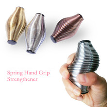 Spring Hand Grip Strengthener Hand Therapy Elastic Finger Pow Muscle Gr