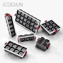 Светодиодный светильник coojun focos 6/8/10/16/20/30/36 Вт 220