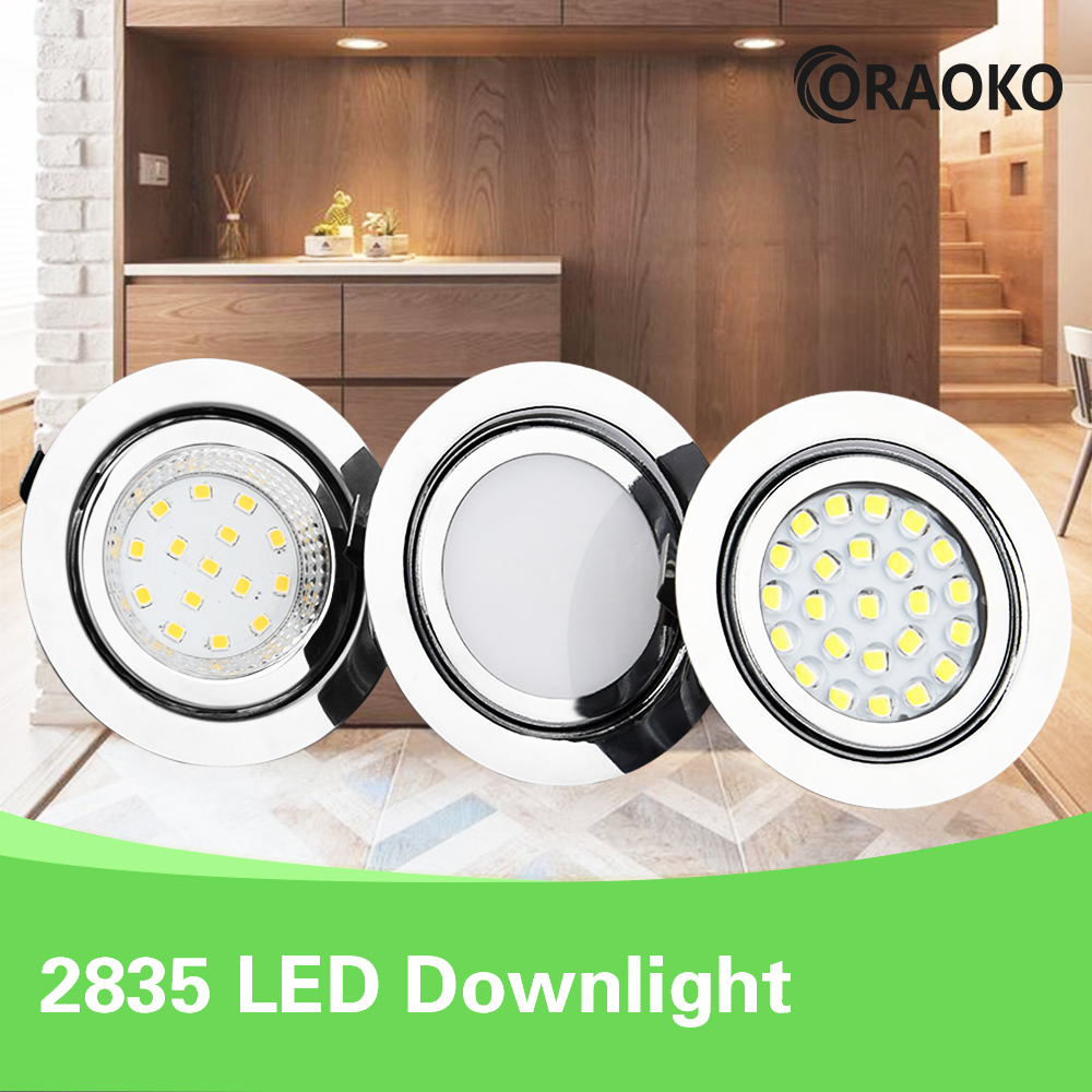 LED Mini Spotlight Bathroom Ceiling Hidden Downlight Spot 12V Recessed Ceiling Cabinet Light IP65 Waterproof