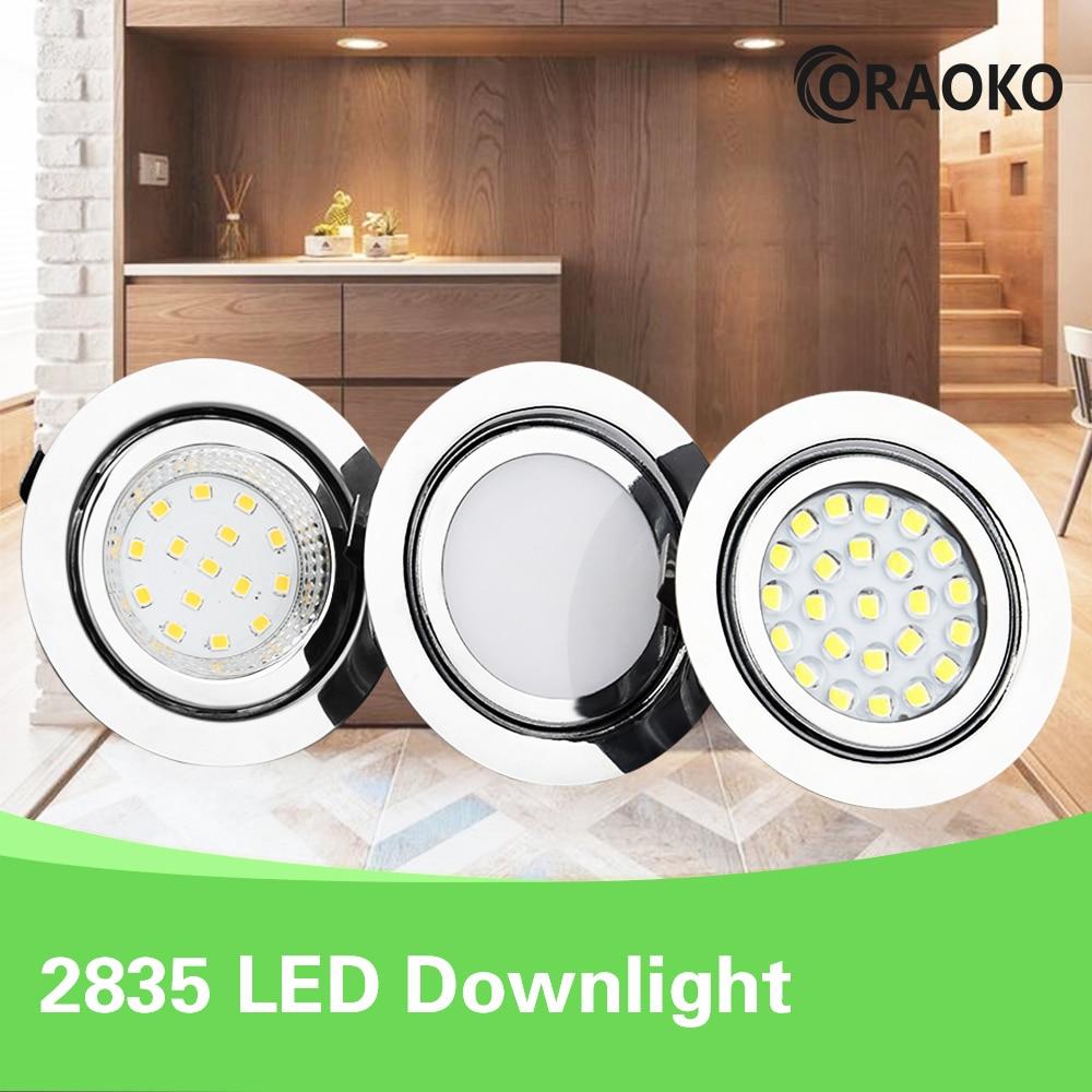 LED Mini Spotlight Bathroom Ceiling Hidden Downlight Spot 12V Recessed Ceiling Cabinet Light IP65 Waterproof
