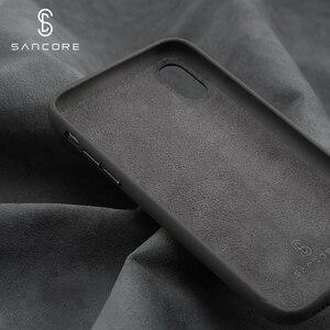 Image 4 - SanCore für iPhone X Xs Max Telefon Fall Leder Mode cellphoneFull schutz NAPPA Business Premium Shell Luxus Rindsleder Mann