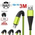 Кабель Micro USB для быстрой зарядки и передачи данных, 1 м, 2 м, 3 м