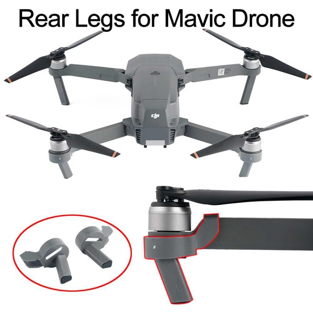 2pcs Landing Gear For Dji Mavic Pro Platinum Drone Height Extended Rear Feet Heighten Leg Stand Protector Spare Parts Accessory Gear Gear Gears Gears Gearsgear Landing Aliexpress