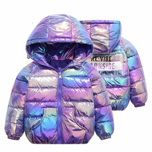 3-11Yrs NEW Boys amp Girls Cotton Winter Fashion Sport Jacket amp Outwear Children Cotton-padded Jacket Boys Girls Winter Warm Coat cheap CN(Origin) Solid Regular Hooded Outerwear Coats Full Fits true to size take your normal size Heavyweight Canvas Jackets