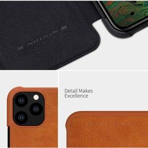 Image 4 - Caes für iPhone X Xs Max 7 8 Plus 12 Mini 11 Pro Max Nillkin Qin Serie PU Leder Flip abdeckung Für iPhone 11 Fall