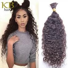 Brazilian Loose Wave Human Hair Bulk For Braiding No Weft Pre-Colored Remy Human Hair Bulk 1 3 Bundles Braiding Hair Extension