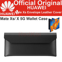 Official Original HUAWEI Mate Xs Envelope Leather Cover Luxury Genuine Wallet Case for HUAWEI Mate Xs X 5G P40 Pro + Mate 30 Pro