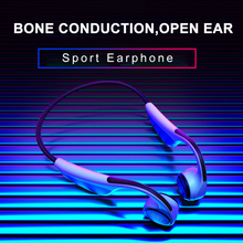 Bone Conduction Wireless Bluetooth 5.0 Headphones For iPhone Xiaomi Huawei Samsung Hands Free Sport Earphone edal bone conduction headphones earphone wired noise reduction earphones hands free outdoor sports with microphone smart phone