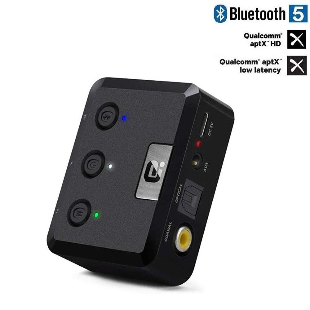 Transmissor de tv Estéreo sem Fio Bluetooth Aptx Baixa Latência Spdif Coaxial Óptica Adaptador Áudio Csr8675 5.0 hd