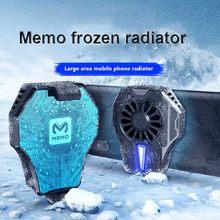 MEMO мобильный телефон радиатор игровой Универсальный телефон с водяным охлаждением кулер портативный вентилятор держатель радиатор для ...