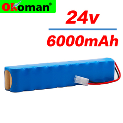 6000mAh for Rowenta 24V Ni MH Battery pack CD vacuum cleaner Besen air force Extreme RH8770 RH8771WS RH877501 RH8779 RH877901