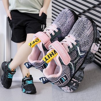 New Spring Autumn Children Shoes Fashion Brand Boys Girls Sports Shoes Casual Kids Sneaker Outdoor Training Breathable Girl Shoe cctwins kids 2018 spring mesh breathable fashion sneaker children boy brand sport shoe baby girl brand casual trainer f2223