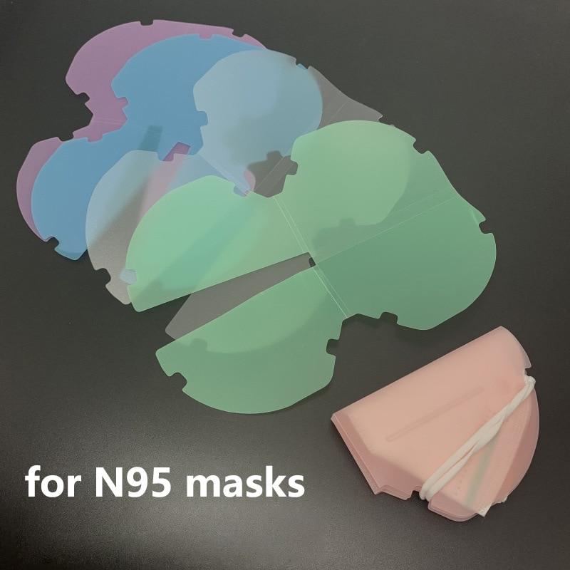 5/10 шт. переносная маска для хранения для N95 KN95 маски ящик для хранения Чехол Пылезащитная маска папка маски для лица временный контейнер