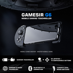 Image 2 - GameSir G6 Mobile Gaming Touchroller Bluetooth Wireless Controller for Android Phone PUBG Call of Duty CODM   Black