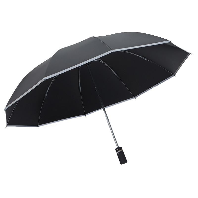 ossos guarda-chuva automático chuva uv guarda-chuva para