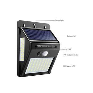 Image 3 - Outdoor LED Solar Wall lamp Night light PIR Motion Sensor Auto ON/Off Waterproof Porch Path Street Garden Security lighting