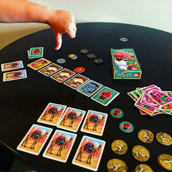Hotsale Jaipur Jewelry Trading board games for 2 players, cards Chinese rules card game 2