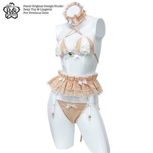 Image 3 - Womens Sexy Costume Lolita Cute Maid Uniform Kawaii Anime Bikini Set Temptation Erotic Underwear Costume Cosplay