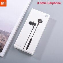 Xiaomi m11 baixo in-ear fone de ouvido 3.5mm eadphone com controle de fio microfone driver duplo para mi 10 lite nota 10 pro redmi nota 7 8 9 pro