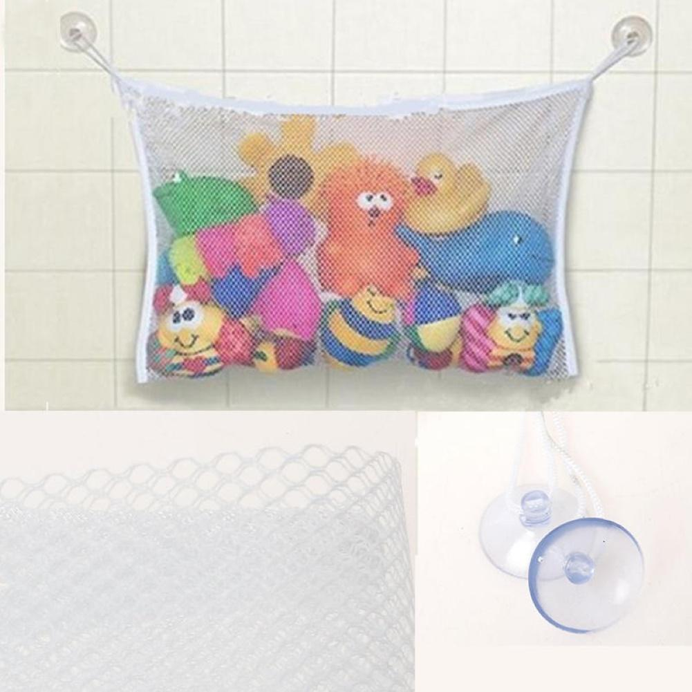 2020 New Lowest Price Bathroom Hanging Mesh Storage Bag Baby Kids Bathing Toys Organizer Pouch Basket