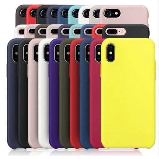 Silicone <font><b>Case</b></font> For <font><b>iPhone</b></font> 7 8 6 <font><b>6s</b></font> Plus <font><b>Original</b></font> Liquid Silicone Cover Coque Capa For <font><b>iPhone</b></font> X Xs 11 Pro Max XR image