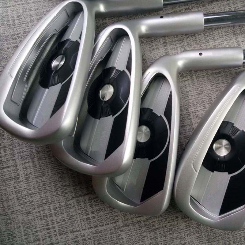 Golf Clubs Silver 400 Irons 4-9UWS 9pieces Graphite Steel Shaft With Rod Cover Golf Irons DHL Free Shipping