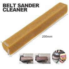 40x40x200mm  Abrasive Cleaning Stick Sanding Belt Band Drum Cleaner Sandpaper Cleaning Eraser for Belt Disc Sander Tool