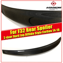 F32 2-doors Hard top tail Spoiler Wing For BMW 4 Series 420i 430i 430iGC 440i Ride Style Carbon Fiber Rear Trunk Spoiler 2014-18 f32 2 doors hard top tail spoiler wing forging carbon m4 style for bmw 4 series 420i 430i 430igc 440i trunk spoiler wing 2014 18