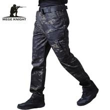 Mege Chiến Thuật Quân Sự Hàng Hóa Quần Nam Quần Mặc Thường Ngày Ngụy Trang Trang Sức Giọt Quần Jogger Xe Máy Làm Việc Quần Áo Pantalones Hombre
