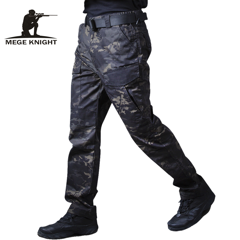 Mege Military Tactical Cargo pants Male Casual Trousers 