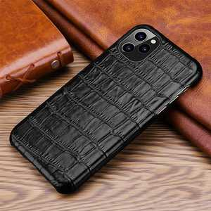 Image 2 - Iphone用本革ケース11 12プロマックスミニ12ミニse 2020 7 8プラス12Pro 11Pro × xr xs最大ケース高級電話バックカバー