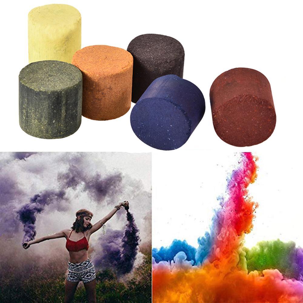 1pcs Colorful Smoke Magic Fun Toy Accessories Fireworks Scene Background Photography Props Smoke Soft Magic Magic Color Random