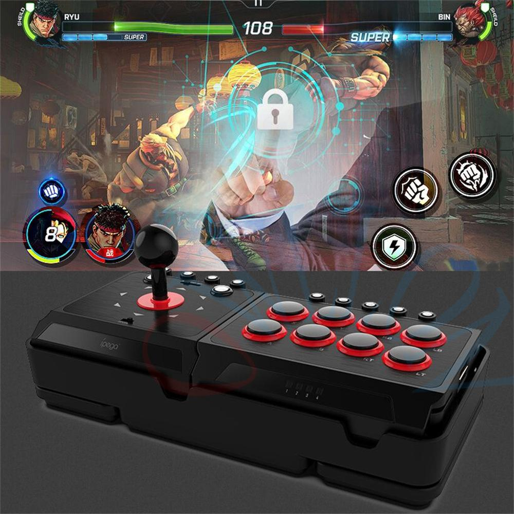 IPEGA 9059 Video Game Controller Arcade Joystick Gamepad for PS3 PS4/PC/Android For Nintendo Switch Game Console - 4